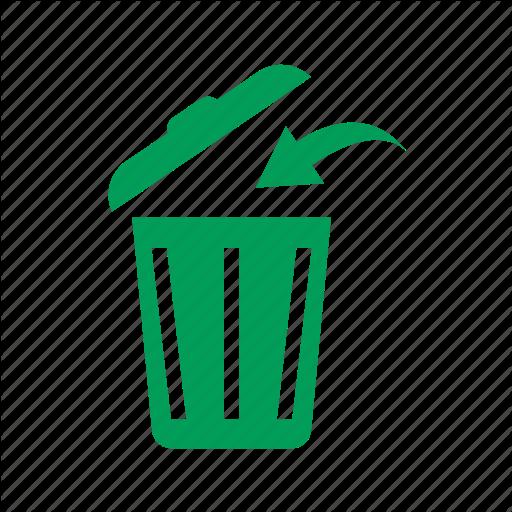 Arrow, Dump, Eco, Ecology, Garbage, Litter, Trash, Trashcan Icon