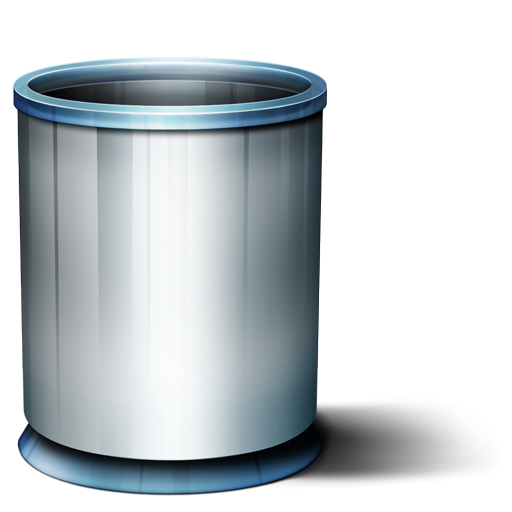 Collection Of Trash Can Icons Free Download