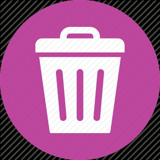 Delete, Dustbin, Recycle Bin, Remove, Rubbish Basket, Trash Can
