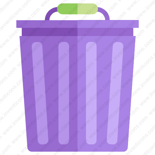 Download Trash Can,garbage Can,dustbn Inventicons