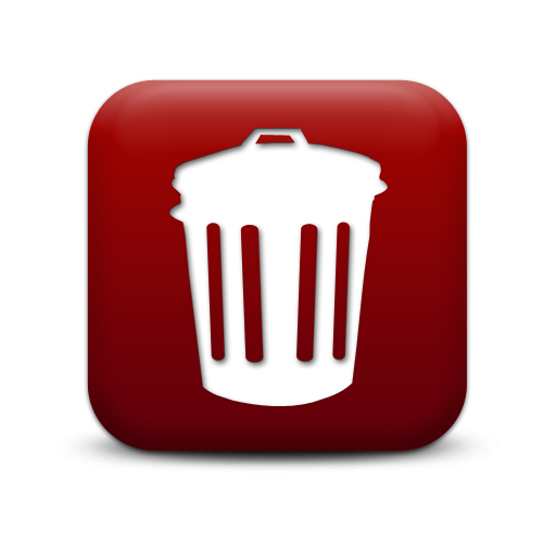 Icon Trash Can Free Vectors Download