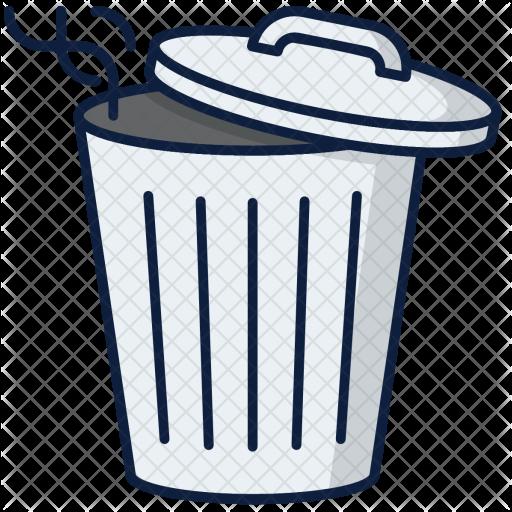 Trash Can Emoji Transparent Png Clipart Free Download