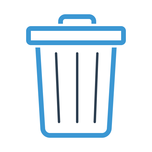 Bin, Delete, Garbage, Trash Icon