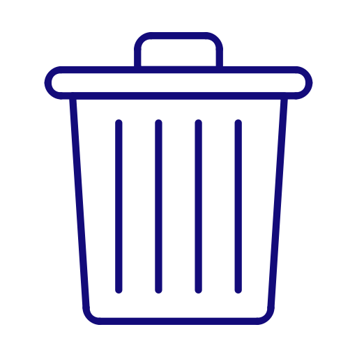 Clean, Delete, Garbage, Recycle Bin, Trash Icon