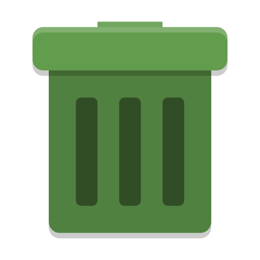 User Trash Icon Papirus Status Iconset Papirus Development Team