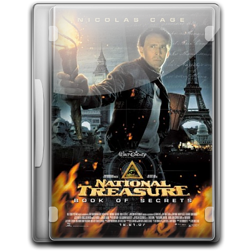 National Treasure Book Of Secrets Icon English Movies Iconset