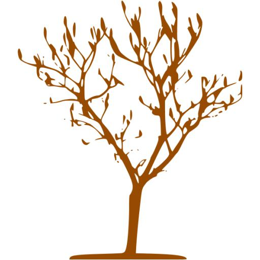 Brown Tree Icon