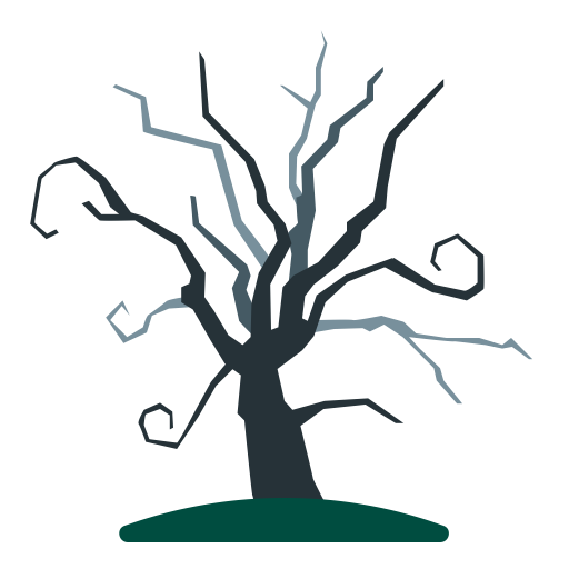 Tree, Dead, Halloween, Old, Holidays, Scary, Dry Icon