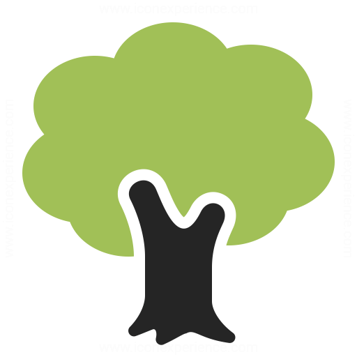 Tree Icon Iconexperience