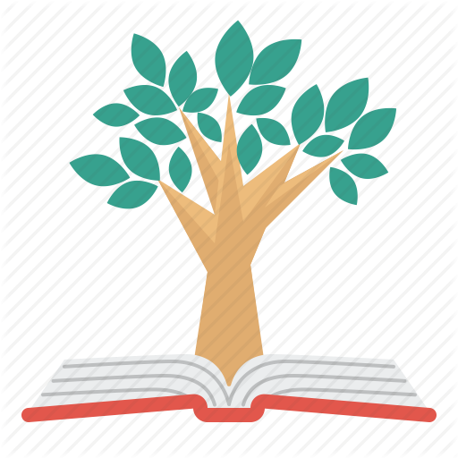 Book, Education, Knowledge, Science, Tree Icon