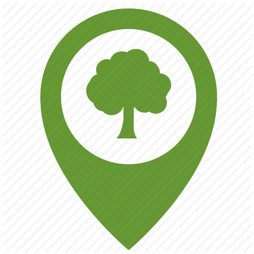 Forest, Map, Park, Place, Point, Pointer, Tree Icon