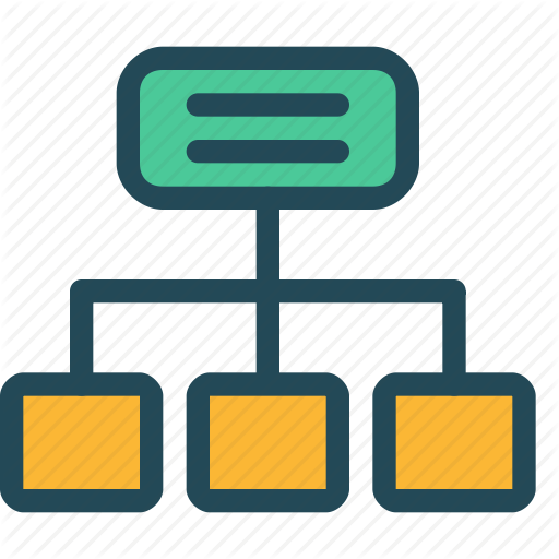 Hierarchy, Map, Navigation, Site, Sitemap, Structure, Tree Icon