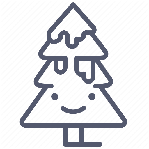 Christmas, Forest, Snow, Tree, Winter Icon