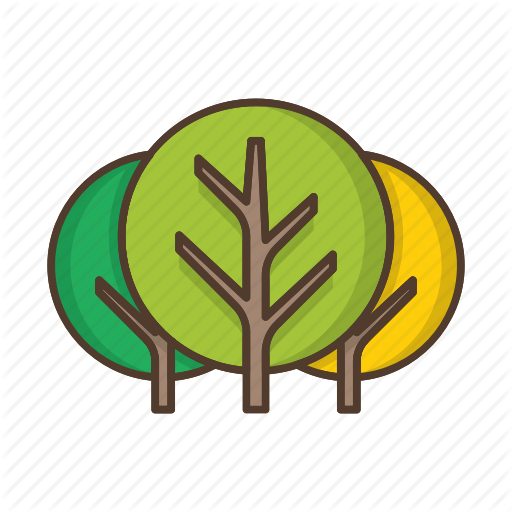 Deciduous, Forest, Nature, Plant, Tree, Trees Icon