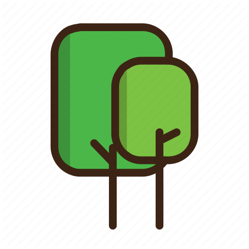 Forest, Summer, Tree, Trees Icon