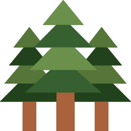 Trees Icon Outdoors Smashicons