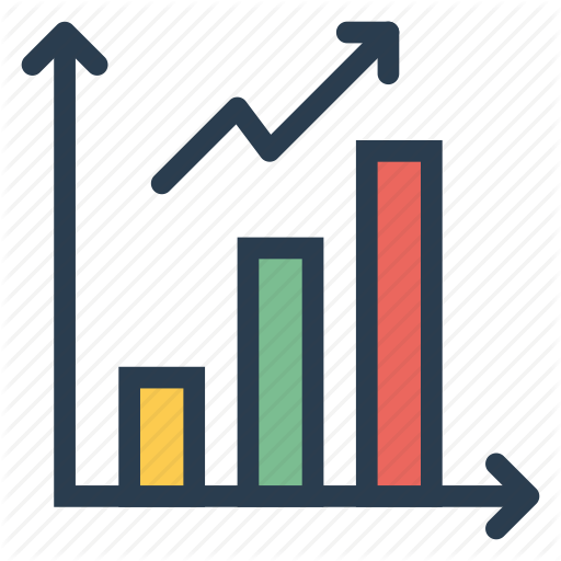 Analytics, Chart, Diagram, Graph, Information, Network, Trending Icon