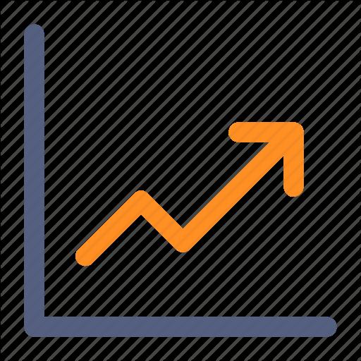 Arrow, Chart, Increase, Trending, Up Icon Icon