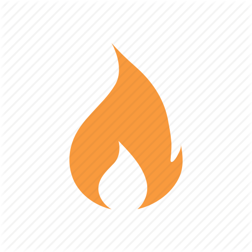 Burn, Fire, Flame, Hot, Trending Icon