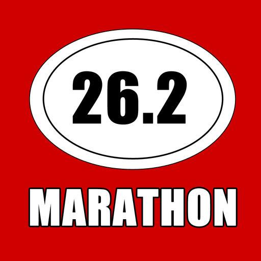 Marathon Triathlon Running Decal Stickers