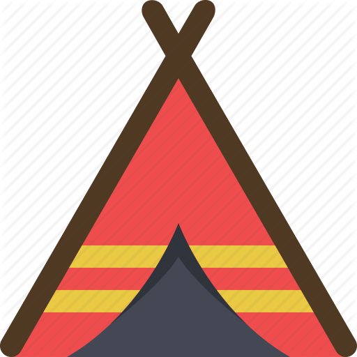 Adventure, C Camping, Settlement, Tent, Tribal, Tribe Icon