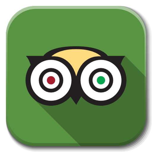 Apps Tripadvisor Icon Flatwoken Iconset Alecive