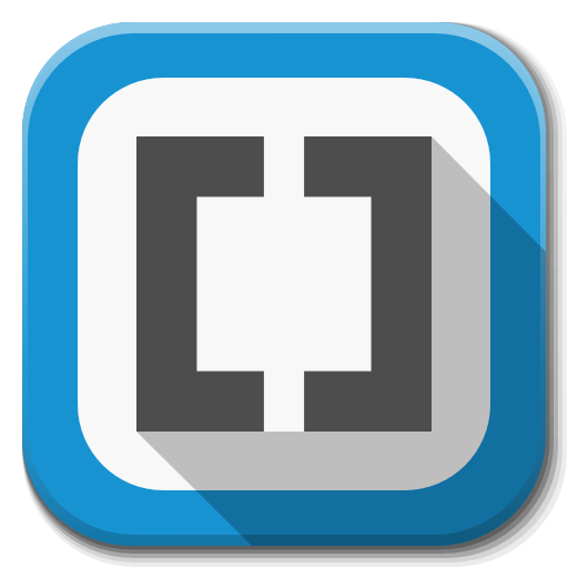 Apps Brackets Icon Flatwoken Iconset Alecive