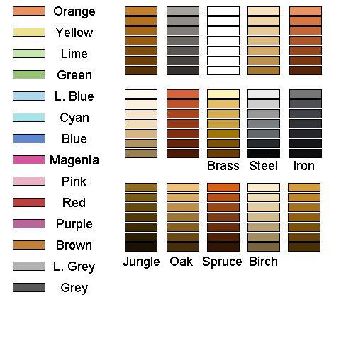 Steampunk Colours