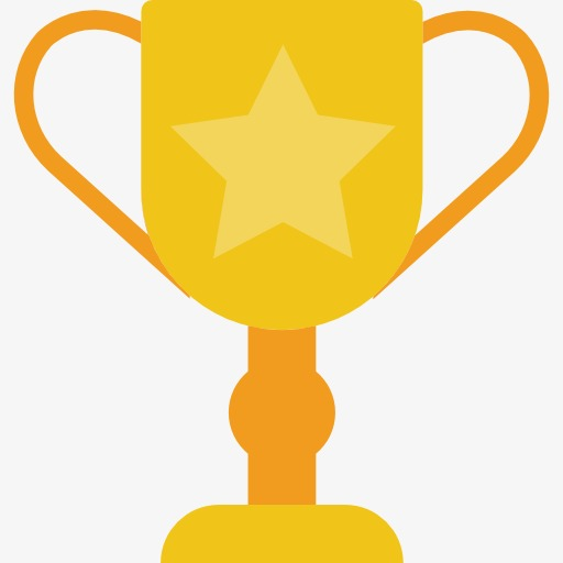 Cup, Cup Clipart, Flat Trophy Icon, Trophy Logo Png Image