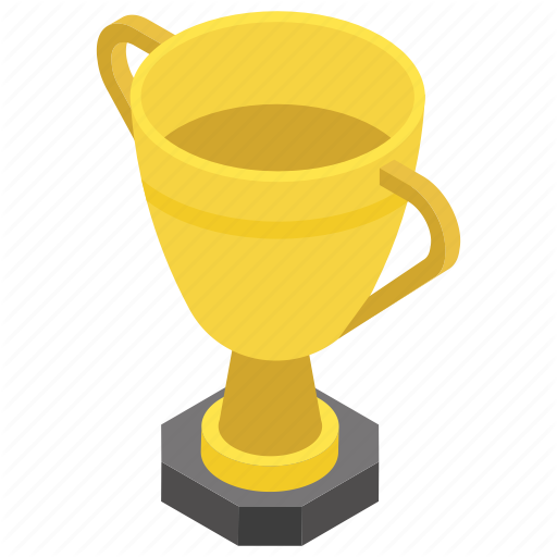 Chalice, Champion, Gold Cup, Trophy, Winner Trophy Icon