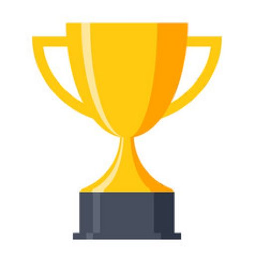 Cropped Trophy Cup Icon Vector The Uogdasco