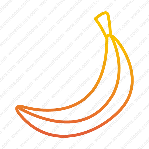 Download Banana,food,fruit,tropical Icon Inventicons
