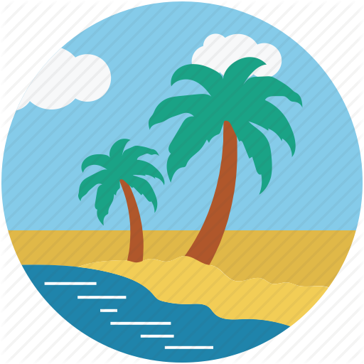 Tropical Beach Transparent Png Clipart Free Download