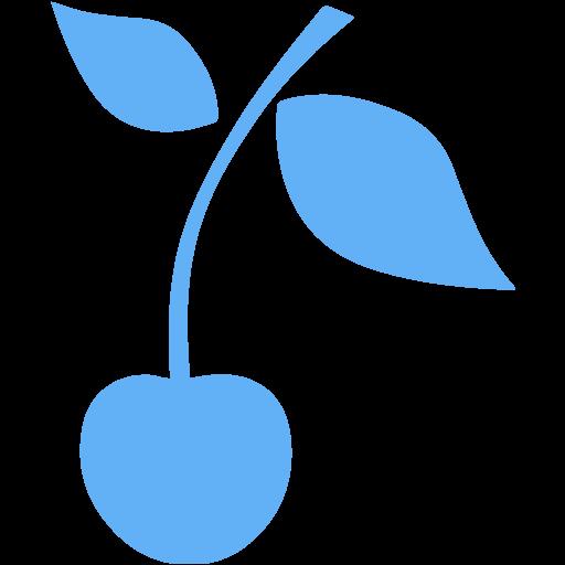 Tropical Blue Cherry Icon