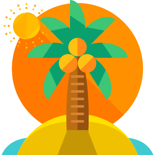 Tropical, Summertime, Palm Tree, Botanical, Weather, Nature, Beach