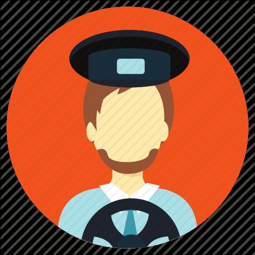 Driver, Professions, Truck Driver Icon