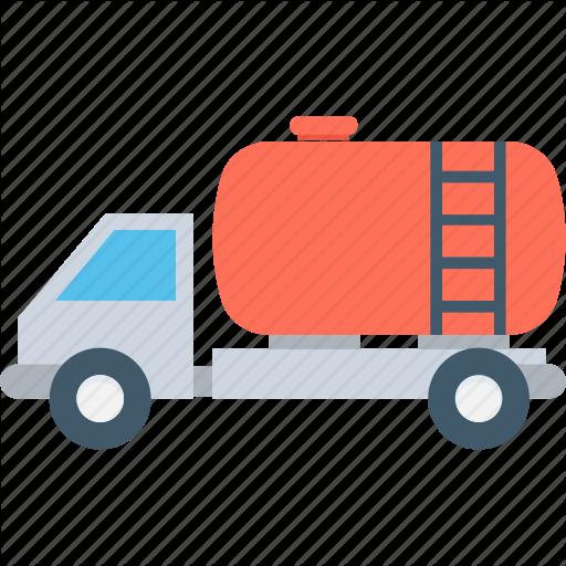 Fuel Truck, Oil Tanker, Tanker, Water Delivery, Water Tanker Icon