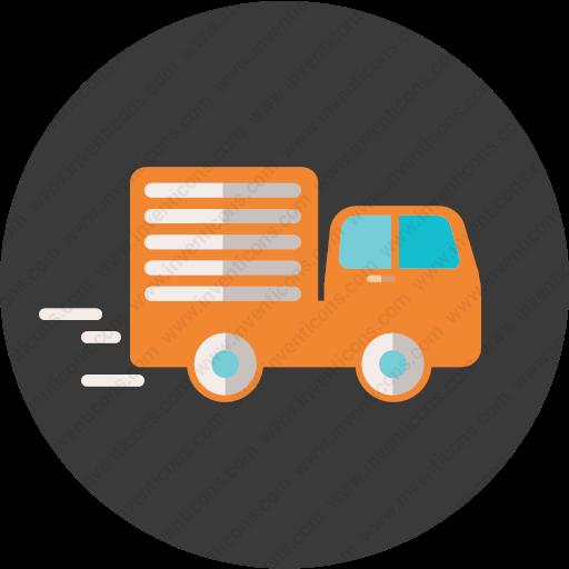 Download Truck,delivery Icon Inventicons