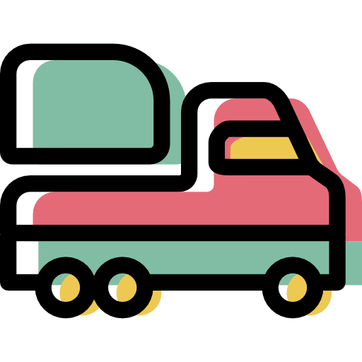 Truck Icon Free Of Color Travel And Transport Icons