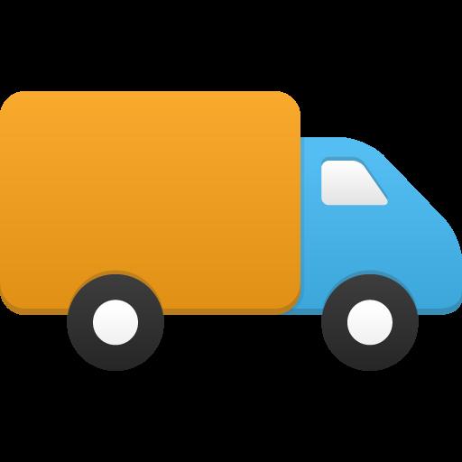 Truck Icon Flatastic Iconset Custom Icon Design