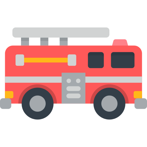 Fire Truck Transport Png Icon