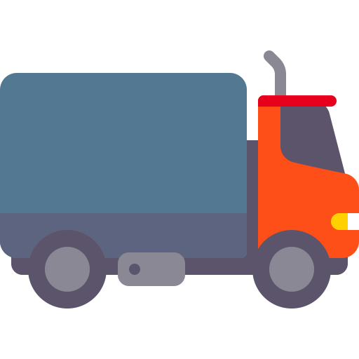 Truck, Fill, Flat Icon With Png And Vector Format For Free