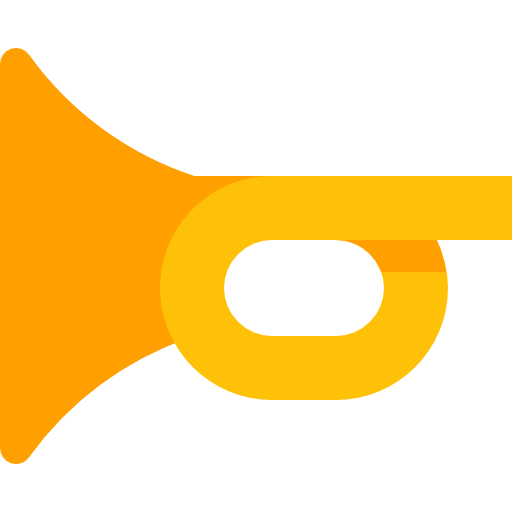 Trumpet Icon Music Pixel Perfect