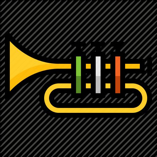 Instrument, Ireland, Irish, Music, Trumpet Icon