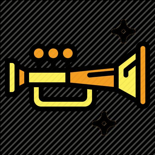 Jazz, Music, Trumpet Icon