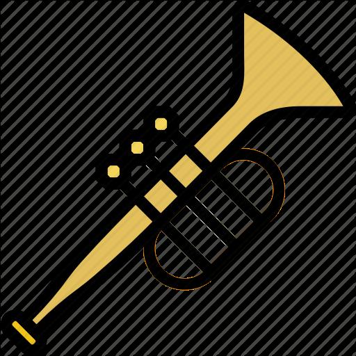 Music, Play, Sound, Trumpet Icon