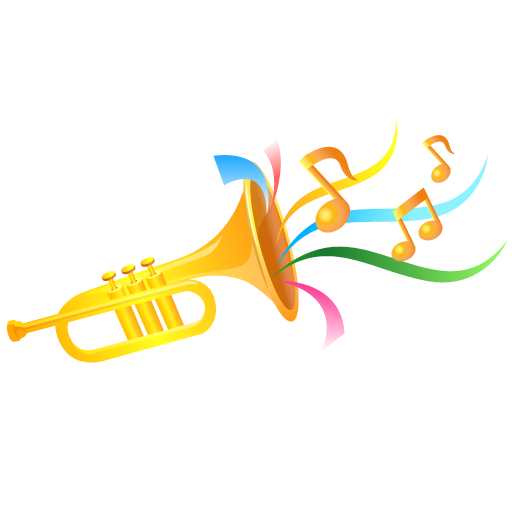 Trumpet Icon Event People Carnival Iconset Dapino