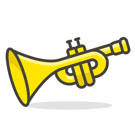 Trumpet Icon Free Of Free Vector Emoji