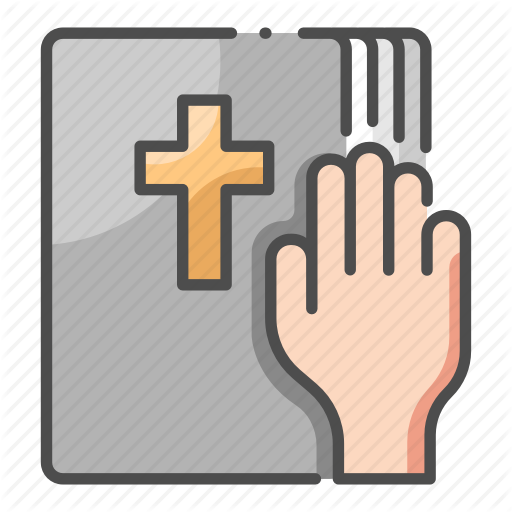 Bible, Hand, Justice, Law, Oath, Swearing, Truth Icon