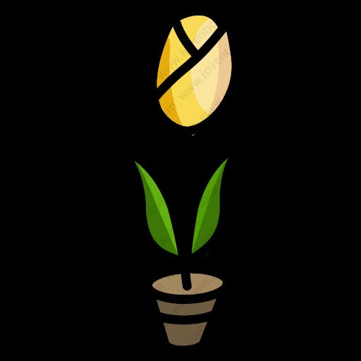 Download Tulip,flower,nature,tulip Icon Inventicons